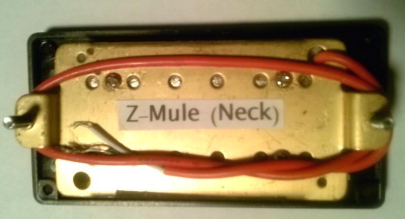 Z Mule Pickups 1 - Pair open Z-Mule zebra